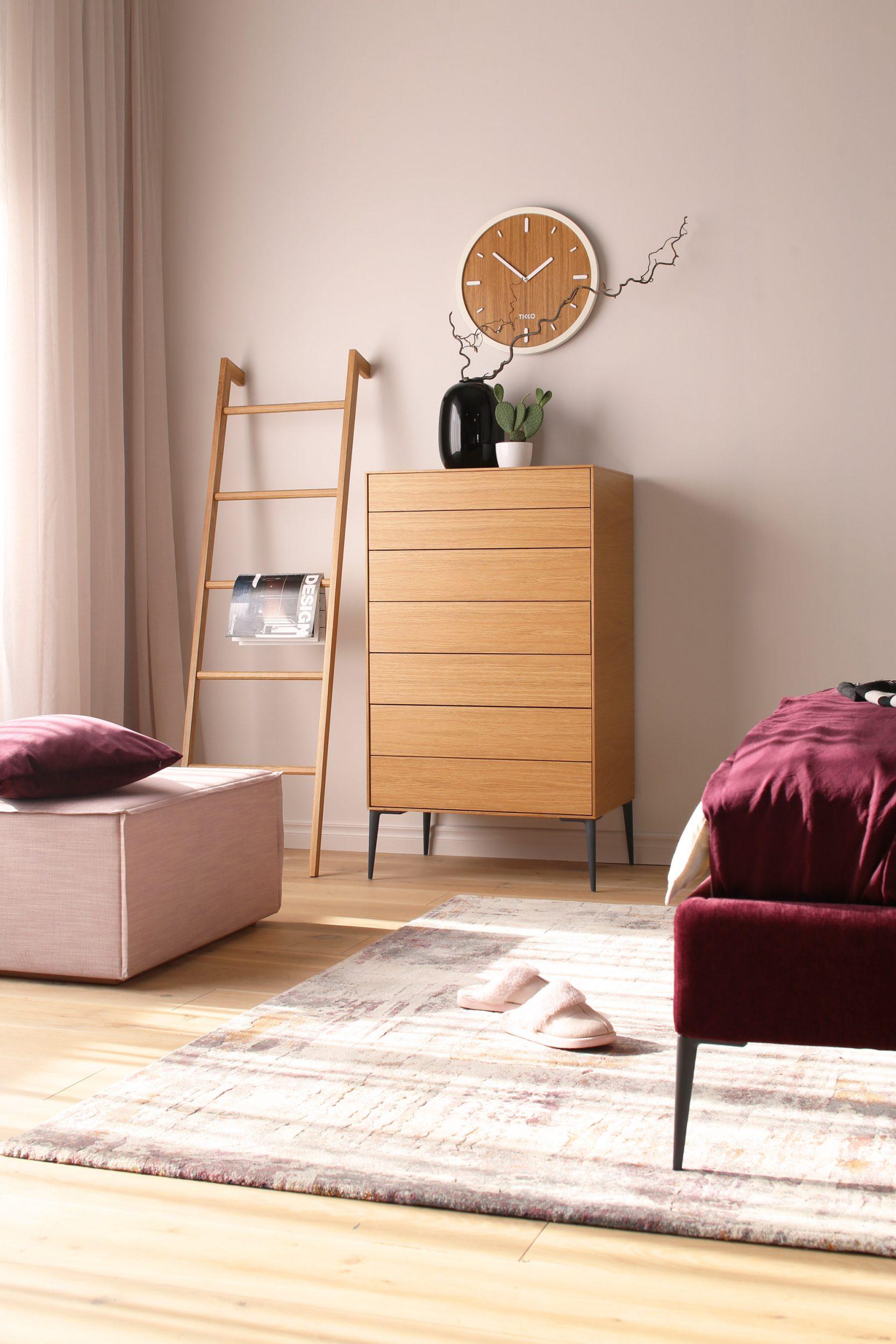 guļamistabas kolekcijas sofija ozolkoka kumode